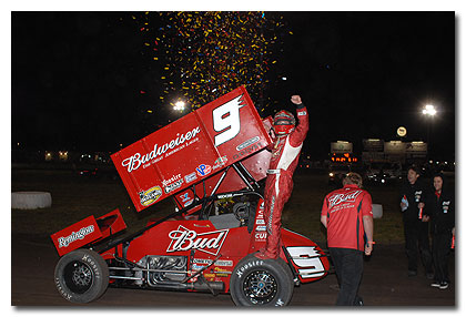 Saldana Shines at Silver Dollar Speedway: Wins Opening Night of Mini Gold Cup