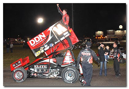 Another Golden Memory for Meyers at Silver Dollar Speedway: Wins Finale of Mini Gold Cup