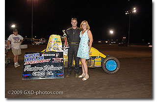 Billy Wallace claims first win of the season at Chico.