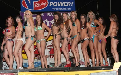 Bikini contest entrants