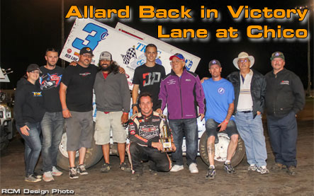 Allard Back in Victory Lane at Chico