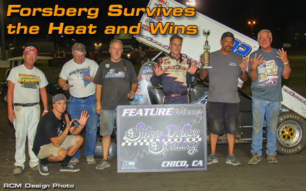 Forsberg Survives the Heat and Wins