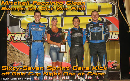Mitchell Faccinto Clean Sweeps the Civil War Field