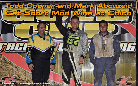 Todd Cooper and Mark Abouzeid Get Sport Mod Wins at Chico