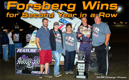 Forsberg Wins for Second Year in a Row